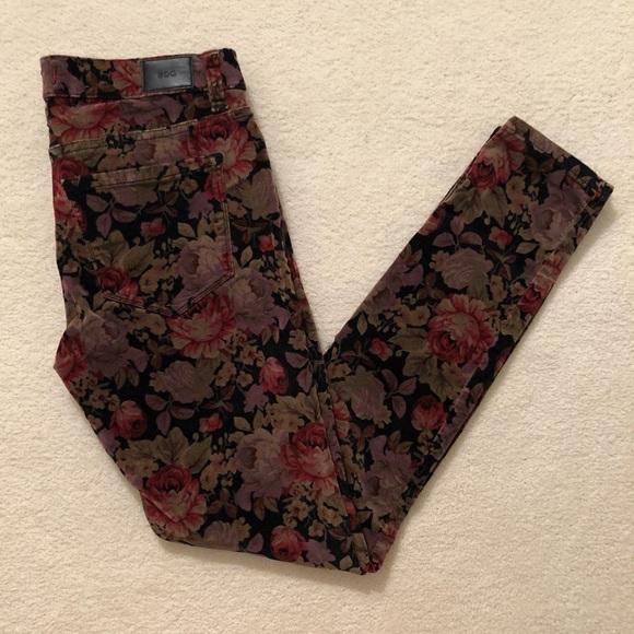 BDG Denim - BDG Velvet Floral pants